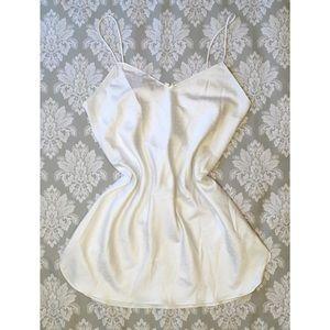 Vintage Victoria's Secret White Slip Nightie